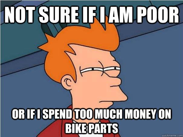 Fry Bike parts