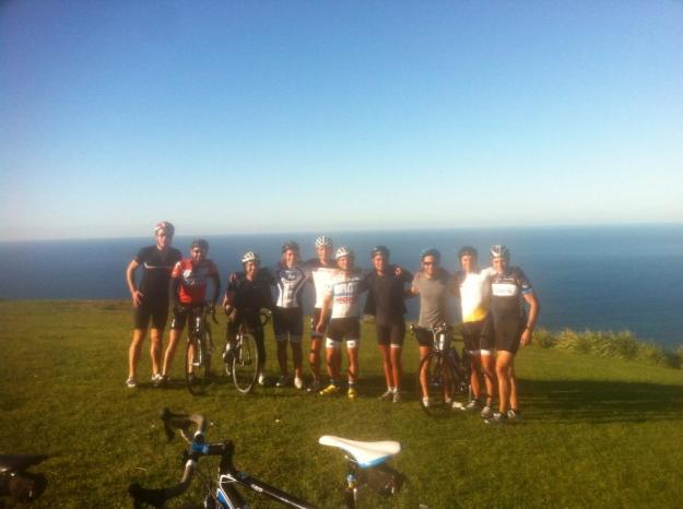 The lads do Stanwell Tops