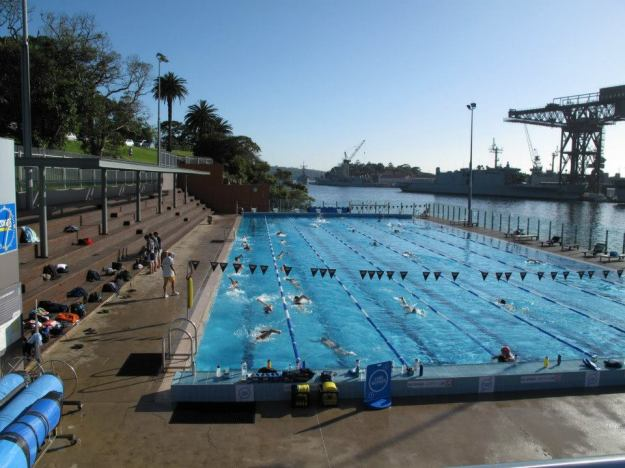 My favorite of all the pools in Sydney, the Andrew Boy Charlton, or ABC as it is otherwise know.  Only problem being that it is a fair weather pool and is therefore closed in the winter!