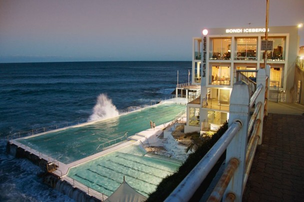 Home aka Bondi Icebergs.  Within spitting distance of my front door, and an awesome option for when the swell is too big to swim the bay