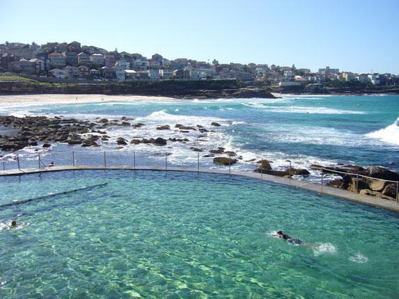 Bronte Pool - couple of bays down the coast